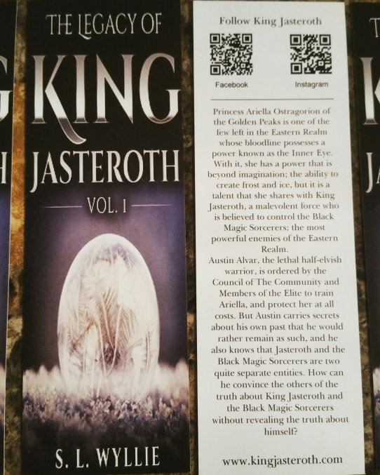 King Jasteroth Bookmarks